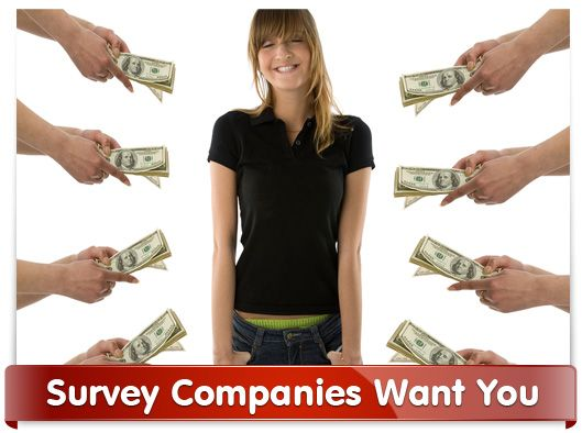 Survey Companies Want You